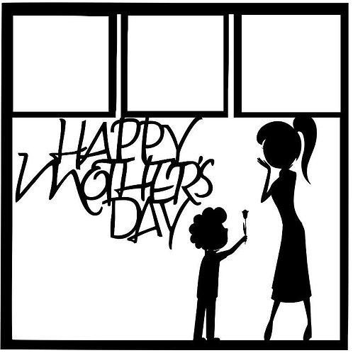 Happy Mother's Day Scrapbook Overlay