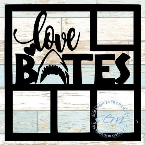 Love Bites Scrapbook Overlay