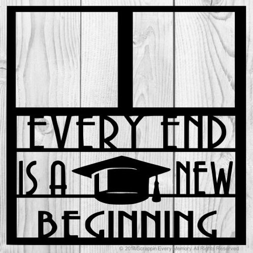 Every End Is A New Beginning Scrapbook Overlay