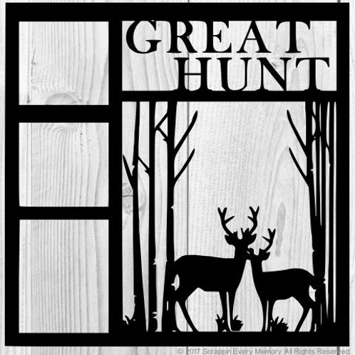 Great Hunt Scrapbook Overlay