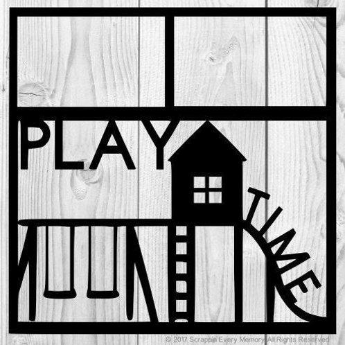 Play Time Scrapbook Overlay