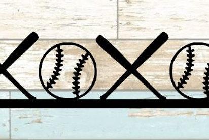 Baseball Scrapbook Border