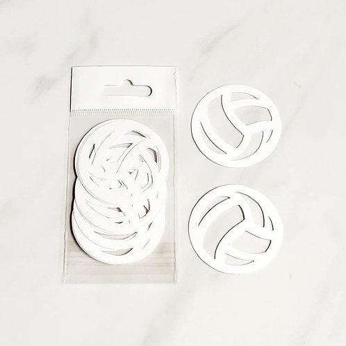 Volleyball Itsy Bitsy Embellishments