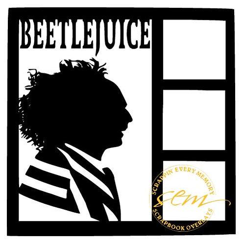 Beetlejuice Scrapbook Overlay