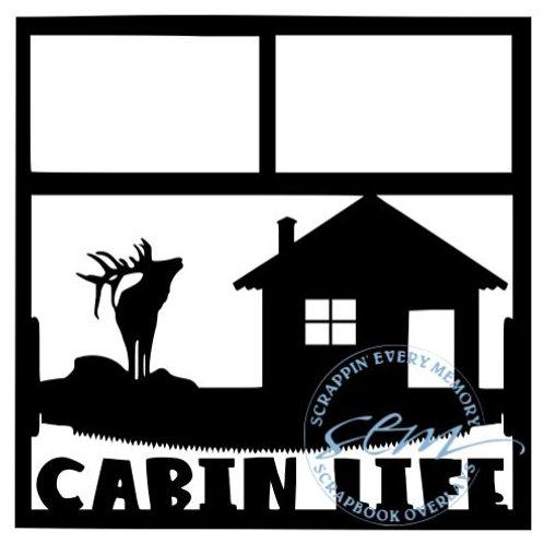 Cabin Life Scrapbook Overlay
