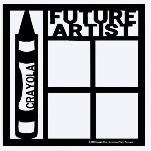 Future Artist Scrapbook Overlay