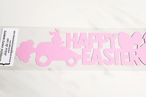 Happy Easter Scrapbook Deluxe Die Cut