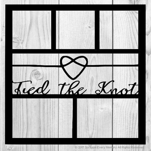 Tied The Knot Scrapbook Overlay