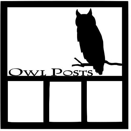 Owl Posts Harry Potter Scrapbook Overlay