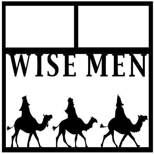 Wise Men Scrapbook Overlay