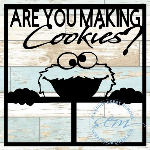 Are You Making Cookies? Scrapbook Overlay