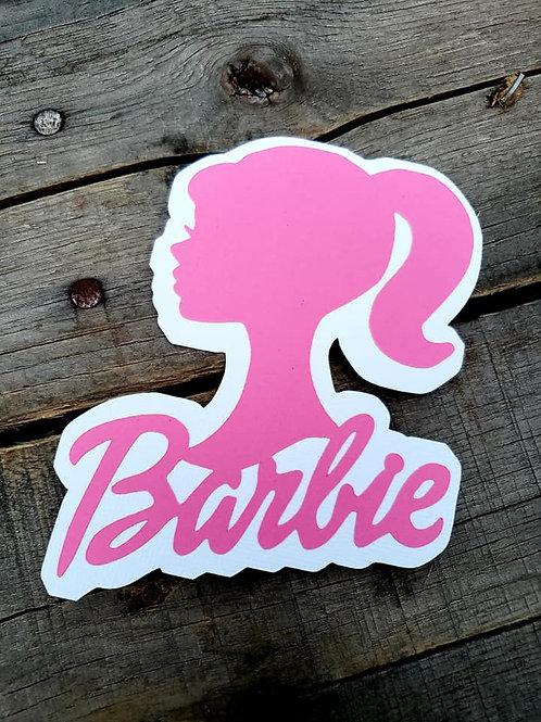 Barbie Paper Piecing Die Cut