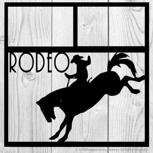 Rodeo Scrapbook Overlay