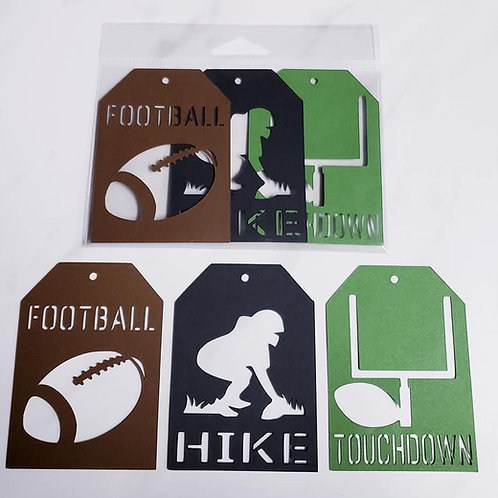 Football Deluxe Word Tags