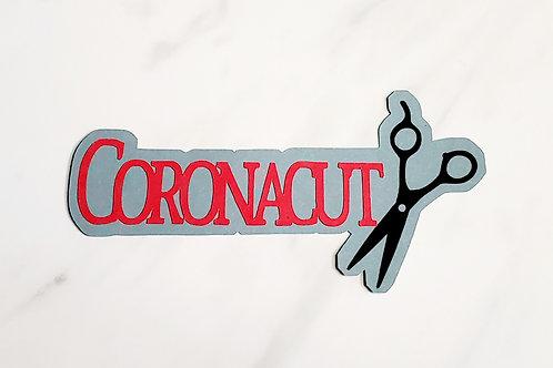 Coronacut Paper Piecing Die Cut