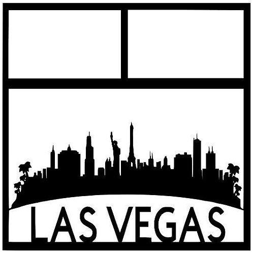 Las Vegas Scrapbook Overlay