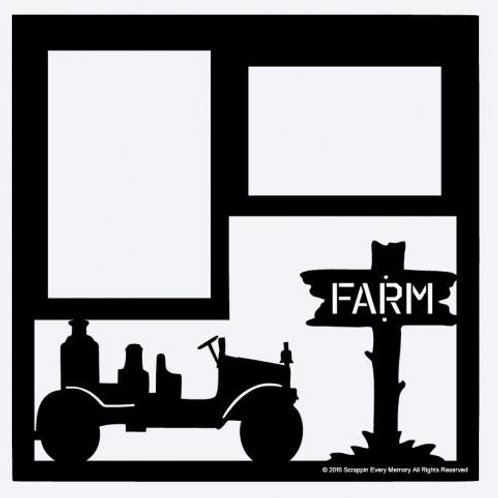 Farm & Tractor Scrapbook Overlay