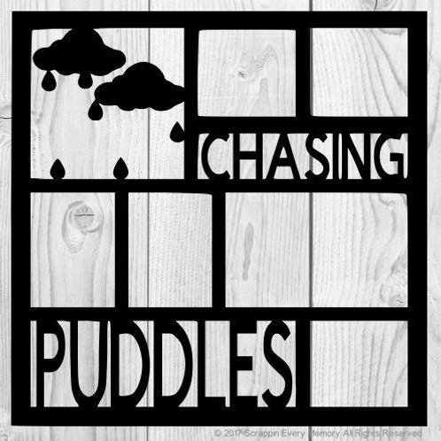 Chasing Puddles Scrapbook Overlay