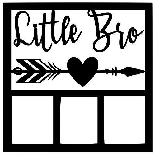 Little Bro Scrapbook Overlay