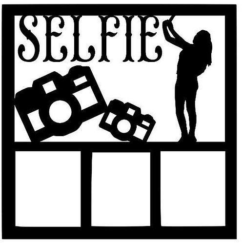 Selfie Scrapbook Overlay