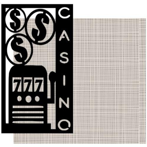 Casino Vertical Scrapbook Title
