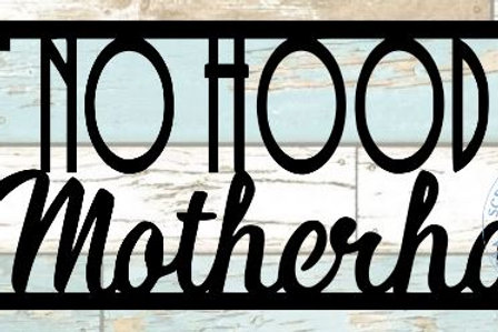 Ain't No Hood Like Motherhood Scrapbook Title