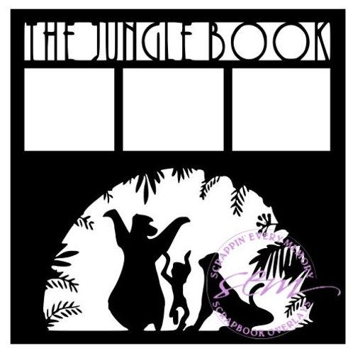 The Jungle Book Scrapbook Overlay