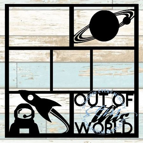 Out Of This World Scrapbook Overlay