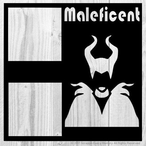 Maleficent Scrapbook Overlay
