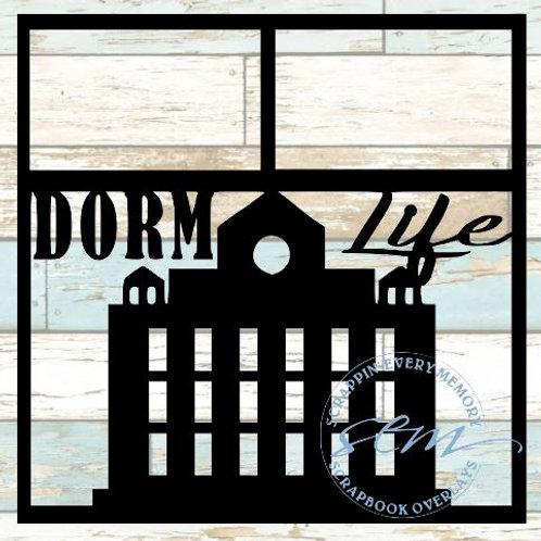 Dorm Life Scrapbook Overlay