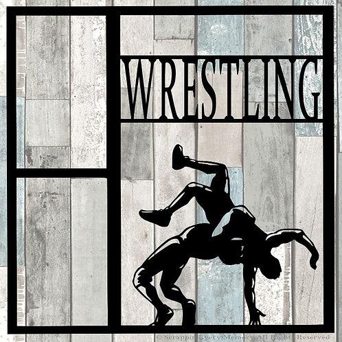 Wrestling Scrapbook Overlay