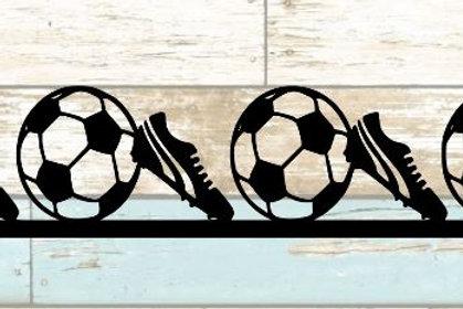 Soccer Scrapbook Border