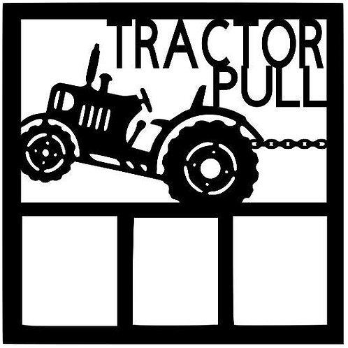 Tractor Pull Scrapbook Overlay