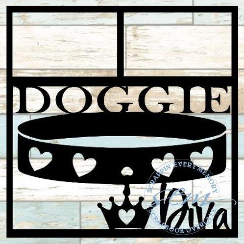 Doggie Diva Scrapbook Overlay