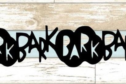 Bark Scrapbook Border