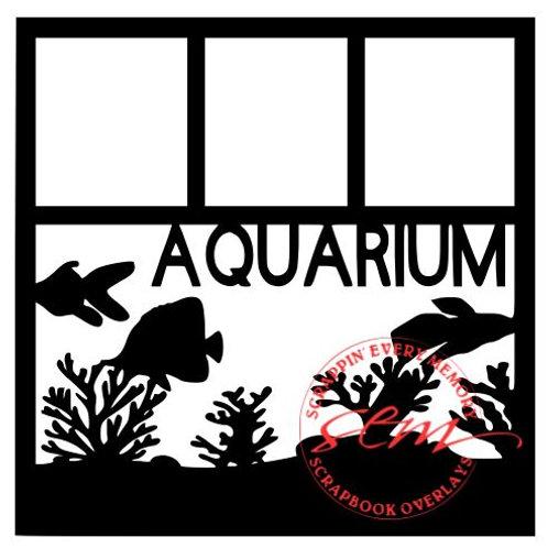 Aquarium Scrapbook Overlay