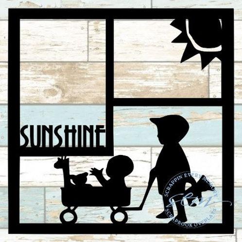 Sunshine Scrapbook Overlay