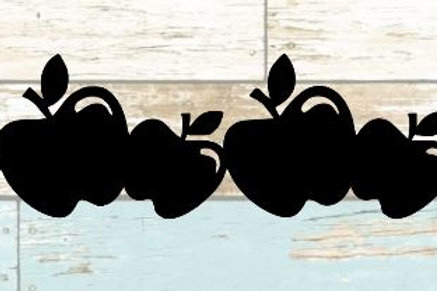 Apples Scrapbook Border