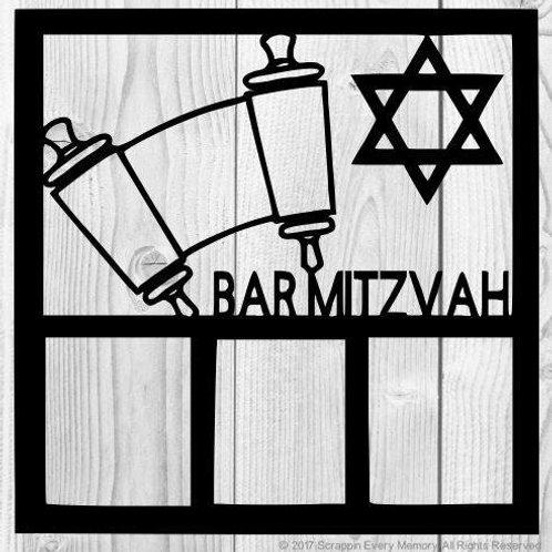 Bar Mitzvah Scrapbook Overlay