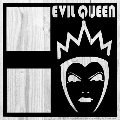 Evil Queen Scrapbook Overlay