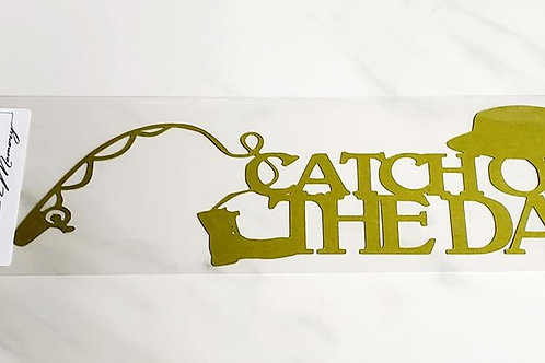 Catch Of The Day Scrapbook Deluxe Die Cut