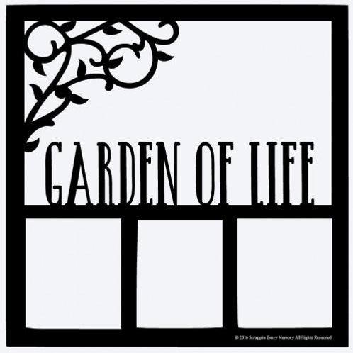 Garden Of Life Scrapbook Overlay