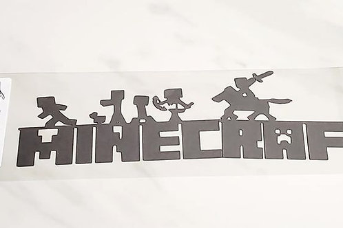 Minecraft Scrapbook Deluxe Die Cut