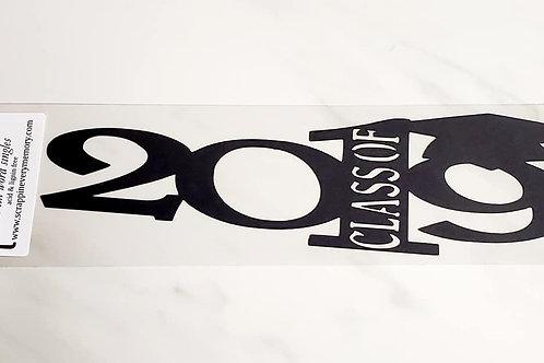 Class Of 2019 Scrapbook Deluxe Die Cut