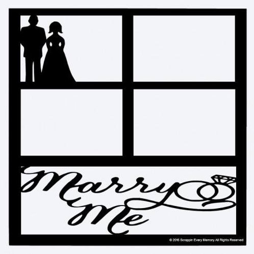 Marry Me Scrapbook Overlay