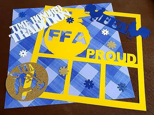 FFA Proud Scrapbook Page Kits