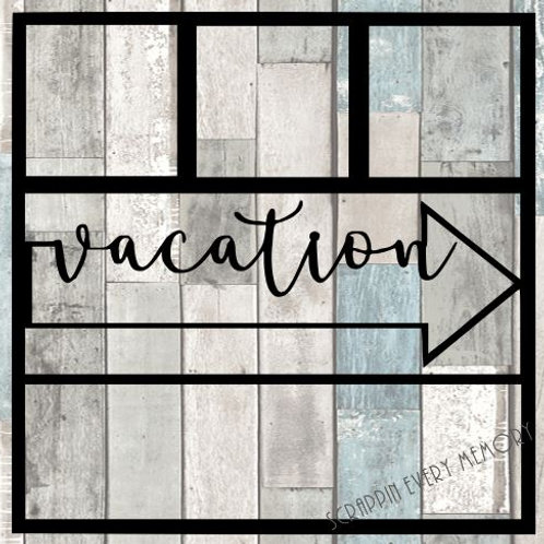 Vacation Scrapbook Overlay