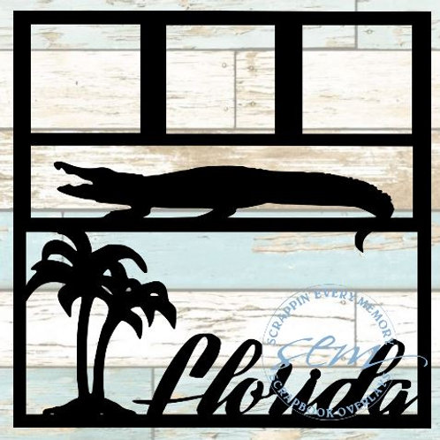 Florida Scrapbook Overlay