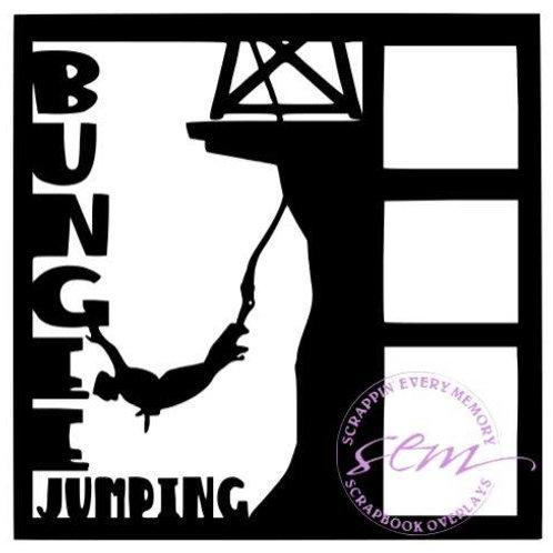 Bungee Jumping Scrapbook Overlay