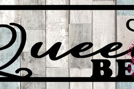 Queen Bee Scrapbook Title